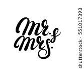 Mr And Mrs Hand Written...