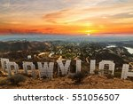 los angeles  california  ... | Shutterstock . vector #551056507
