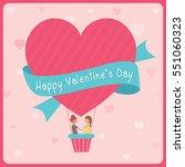 illustration of lovely couple...   Shutterstock .eps vector #551060323