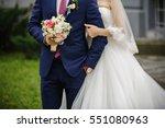 wedding couple  bride and groom ... | Shutterstock . vector #551080963