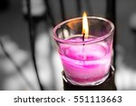 scented candles | Shutterstock . vector #551113663