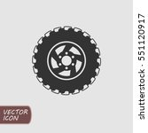 offroad wheel icon | Shutterstock .eps vector #551120917
