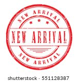 "rubber stamp ""new arrival"" on... 