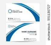 business card vector background | Shutterstock .eps vector #551130727