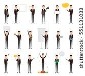 set of people character of... | Shutterstock .eps vector #551131033