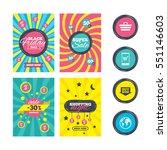 sale website banner templates.... | Shutterstock .eps vector #551146603