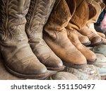 Cowboy Boot On The Shelf