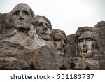 mount rushmore national... | Shutterstock . vector #551183737