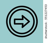 next icon. isolated sign symbol