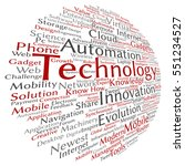 vector concept or conceptual... | Shutterstock .eps vector #551234527