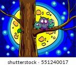 Three Owls Sitting In A Tree....