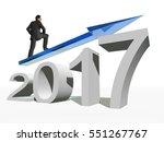 conceptual 3d illustration... | Shutterstock . vector #551267767