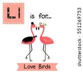 cute children abc alphabet l... | Shutterstock .eps vector #551269753