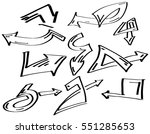 collection set of different... | Shutterstock . vector #551285653