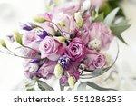 flowers for valentine | Shutterstock . vector #551286253