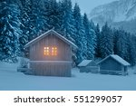 fairytale cottage | Shutterstock . vector #551299057