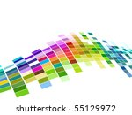 vector colorful mosaic pattern...