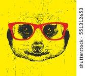 Portrait Of Meerkat With...