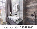 bathroom with walk in shower...
