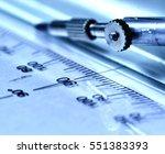 precision measurement tool | Shutterstock . vector #551383393