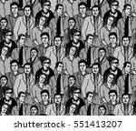 business people black and white ...   Shutterstock .eps vector #551413207