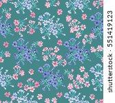 simple cute pattern in small...   Shutterstock . vector #551419123