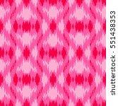 ethnic seamless pink pattern.... | Shutterstock .eps vector #551438353