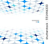 abstract perspective background | Shutterstock .eps vector #551446333