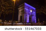 paris  france  circa december... | Shutterstock . vector #551467033