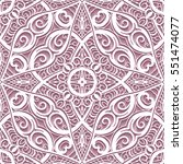 swirly lace texture  cutout... | Shutterstock .eps vector #551474077