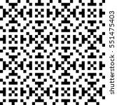 vector seamless pattern.... | Shutterstock .eps vector #551475403