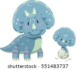 adorable illustration featuring ... | Shutterstock .eps vector #551483737