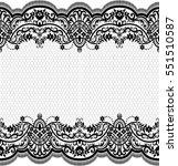 lace pattern  flower vintage...   Shutterstock .eps vector #551510587