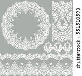 vector set of design elements ...   Shutterstock .eps vector #551510593