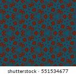 modern geometric seamless... | Shutterstock . vector #551534677