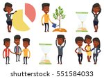 businessman looking at... | Shutterstock .eps vector #551584033