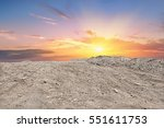 soil mountain ground and the... | Shutterstock . vector #551611753