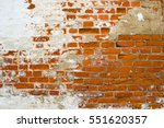 old brick wall. old brick wall... | Shutterstock . vector #551620357
