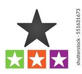 clasic star icon .