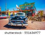seligman  az  usa   july 12 ... | Shutterstock . vector #551636977