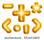 balloon alphabet symbols and... | Shutterstock . vector #551651803