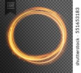 gold circle light effect on... | Shutterstock .eps vector #551653183