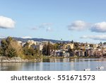 oakland  ca  adams point and... | Shutterstock . vector #551671573