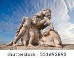 temple of the sun  konark  | Shutterstock . vector #551693893
