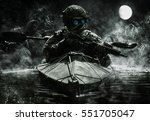 two special forces operators...   Shutterstock . vector #551705047
