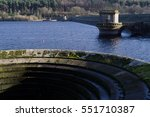 Ladybower Resovoir In Uk With...
