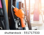 fuel nozzle dispensing pump at