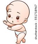 vector illustration of cartoon... | Shutterstock .eps vector #551718967