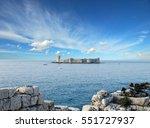 kizkalesi  maiden's castle  ... | Shutterstock . vector #551727937