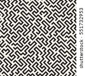 seamless pattern with maze or... | Shutterstock .eps vector #551732953